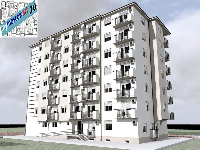 Проект здания - Йоцич (Город Парачин - Сербия) (5)