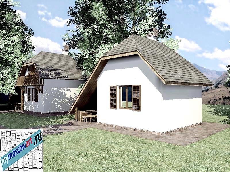 Проект дома - Радомир (Баня Ждрело - Сербия) (6)
