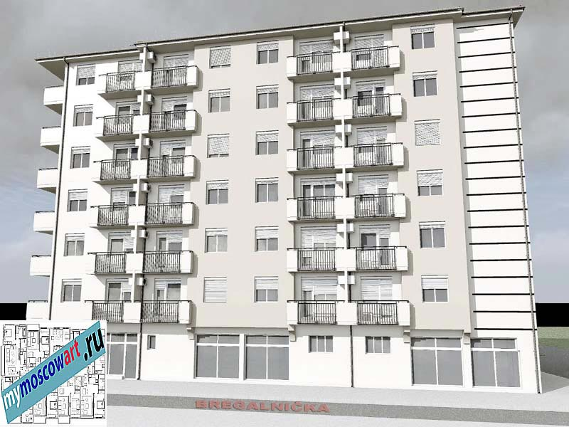 Проект здания - Йоцич (Город Парачин - Сербия) (7)