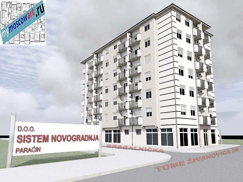 Проект здания - Йоцич (Город Парачин - Сербия) (8)