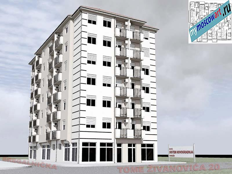 Проект здания - Йоцич (Город Парачин - Сербия) (10)