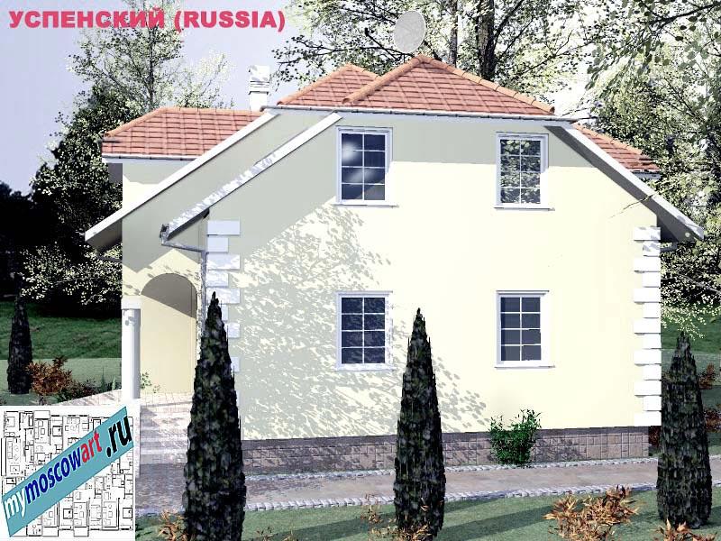 Проект дома - Успенский (Город Москва - Россия) (5)