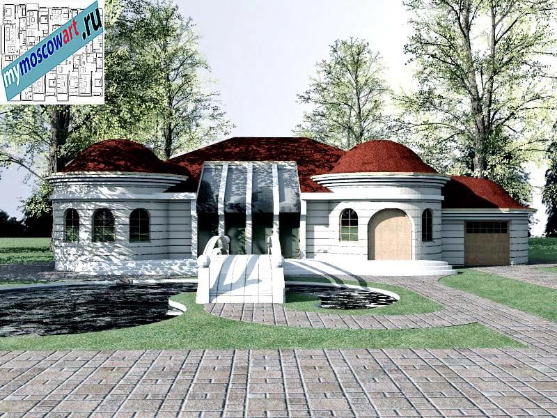 Проект дома - Баришич (Город Чуприя - Сербия) (1)