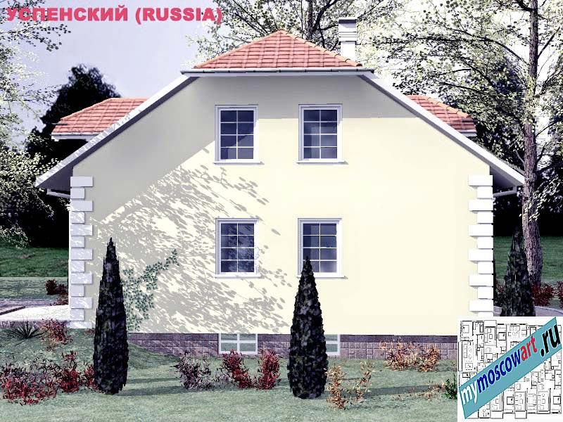Проект дома - Успенский (Город Москва - Россия) (11)