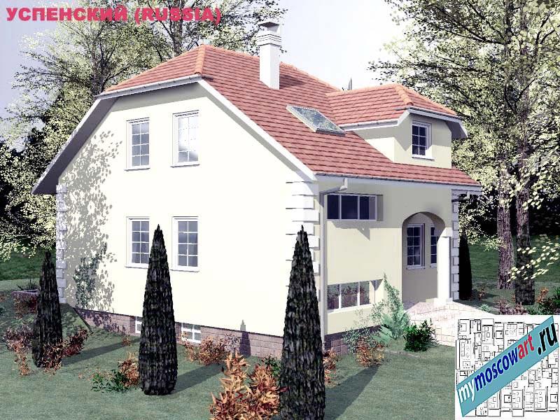 Проект дома - Успенский (Город Москва - Россия) (12)