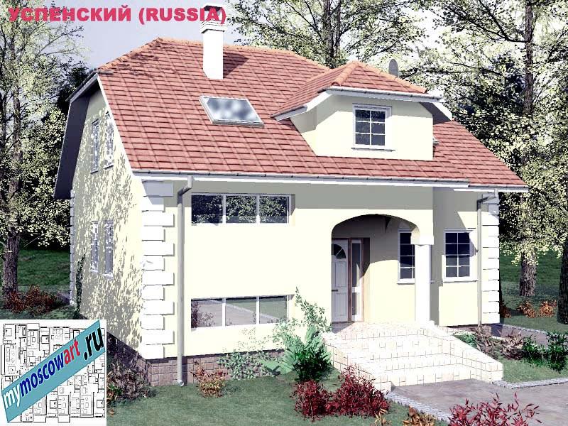 Проект дома - Успенский (Город Москва - Россия) (13)