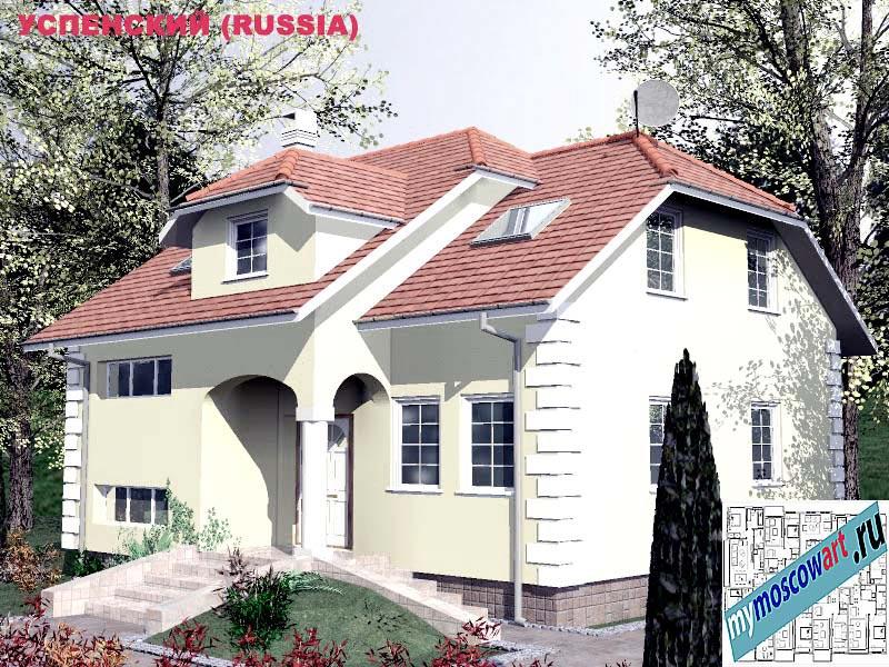Проект дома - Успенский (Город Москва - Россия) (17)