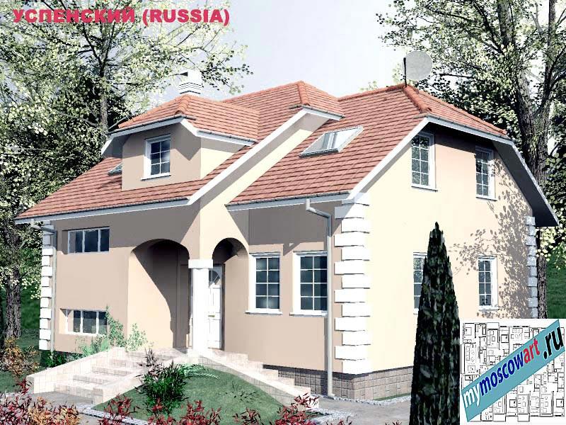 Проект дома - Успенский (Город Москва - Россия) (18)