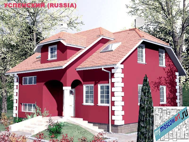 Проект дома - Успенский (Город Москва - Россия) (19)
