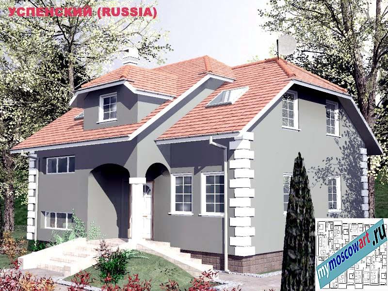 Проект дома - Успенский (Город Москва - Россия) (20)