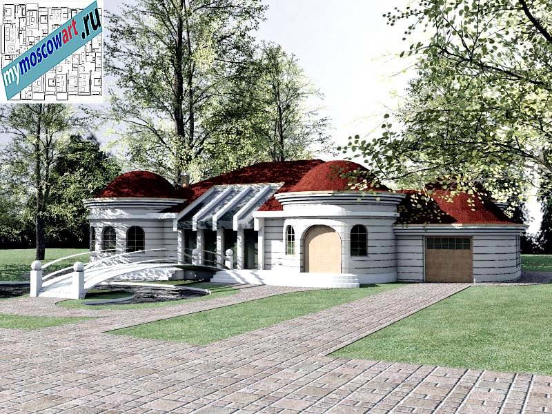 Проект дома - Баришич (Город Чуприя - Сербия) (2)