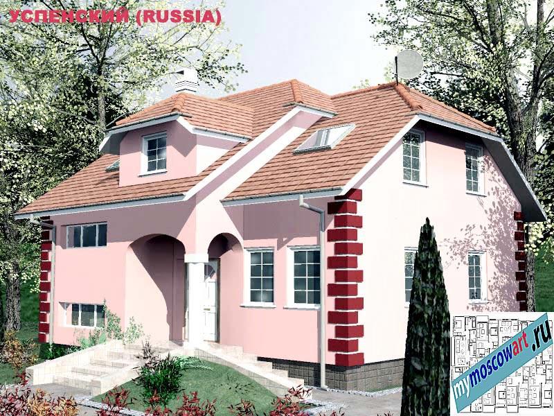 Проект дома - Успенский (Город Москва - Россия) (21)