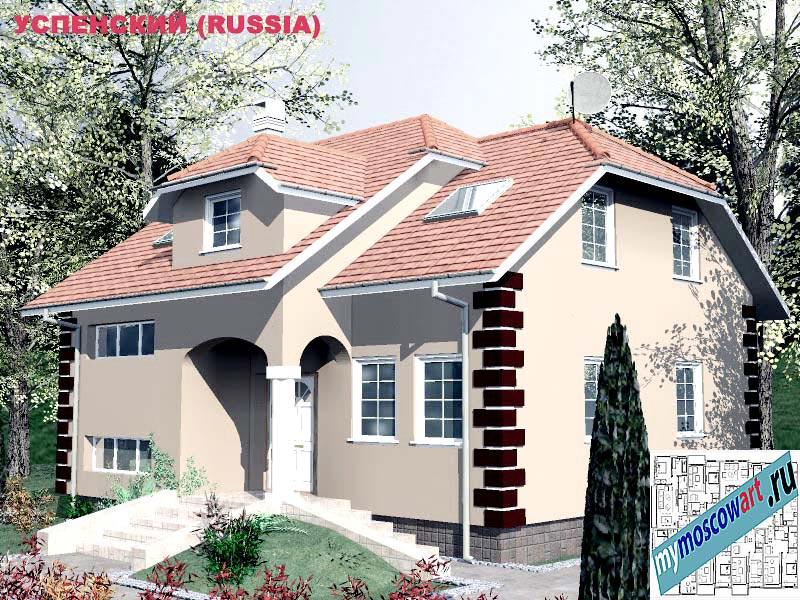 Проект дома - Успенский (Город Москва - Россия) (22)