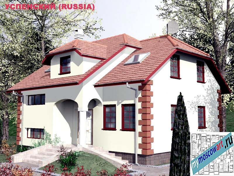 Проект дома - Успенский (Город Москва - Россия) (23)