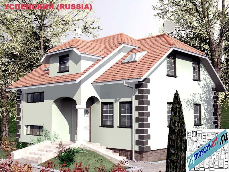 Проект дома - Успенский (Город Москва - Россия) (24)