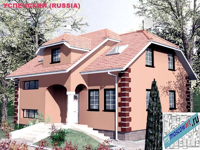 Проект дома - Успенский (Город Москва - Россия) (25)