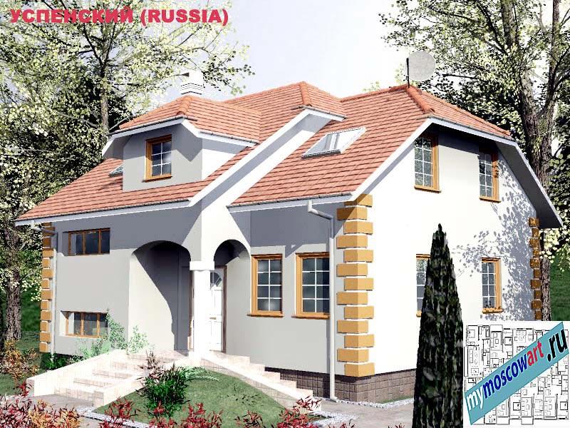 Проект дома - Успенский (Город Москва - Россия) (26)