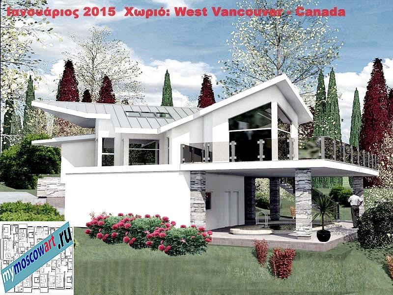 Проект виллы - Мануэла (Город Ванкувер - Канада) (4)