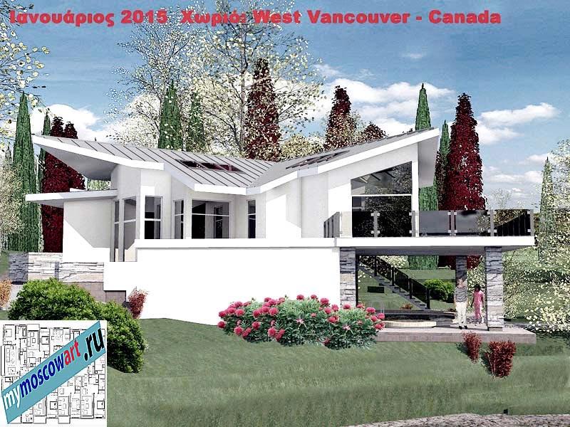 Проект виллы - Мануэла (Город Ванкувер - Канада) (5)