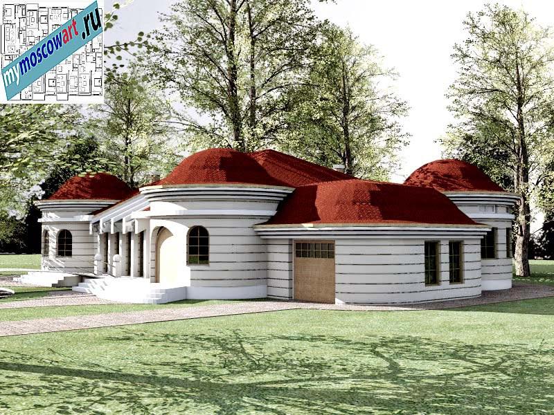 Проект дома - Баришич (Город Чуприя - Сербия) (3)