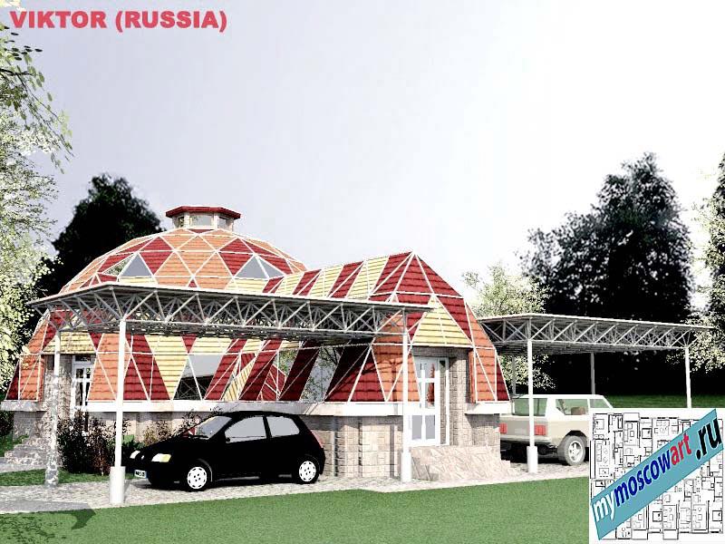 Проект дома - Виктор (Город Москва - Россия) (1)