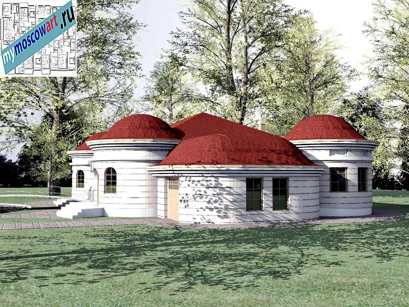 Проект дома - Баришич (Город Чуприя - Сербия) (4)