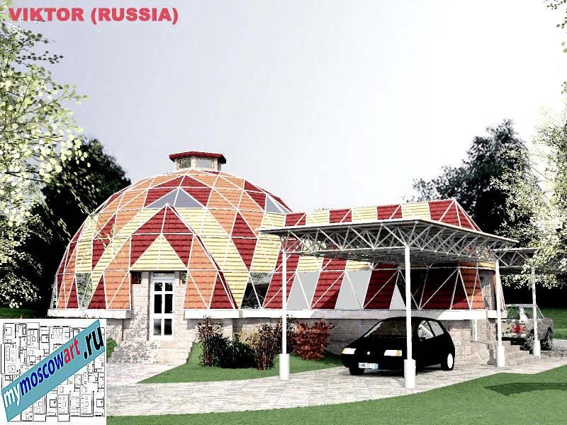 Проект дома - Виктор (Город Москва - Россия) (2)