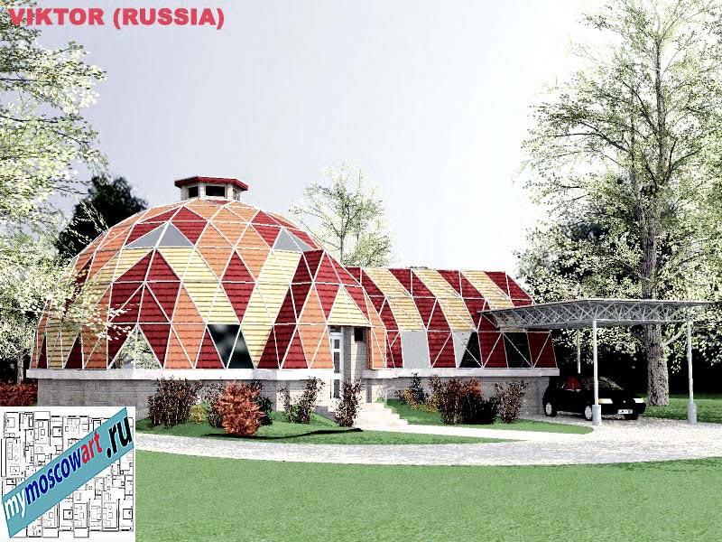 Проект дома - Виктор (Город Москва - Россия) (3)