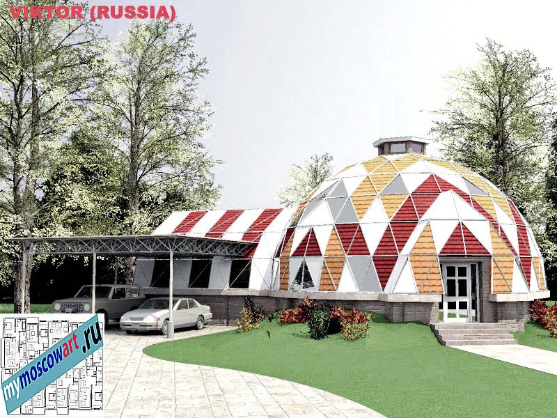 Проект дома - Виктор (Город Москва - Россия) (7)