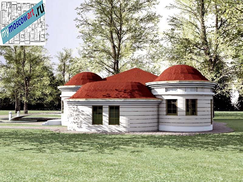 Проект дома - Баришич (Город Чуприя - Сербия) (5)
