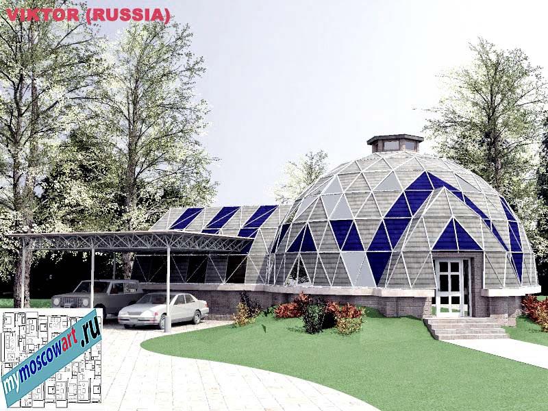 Проект дома - Виктор (Город Москва - Россия) (13)
