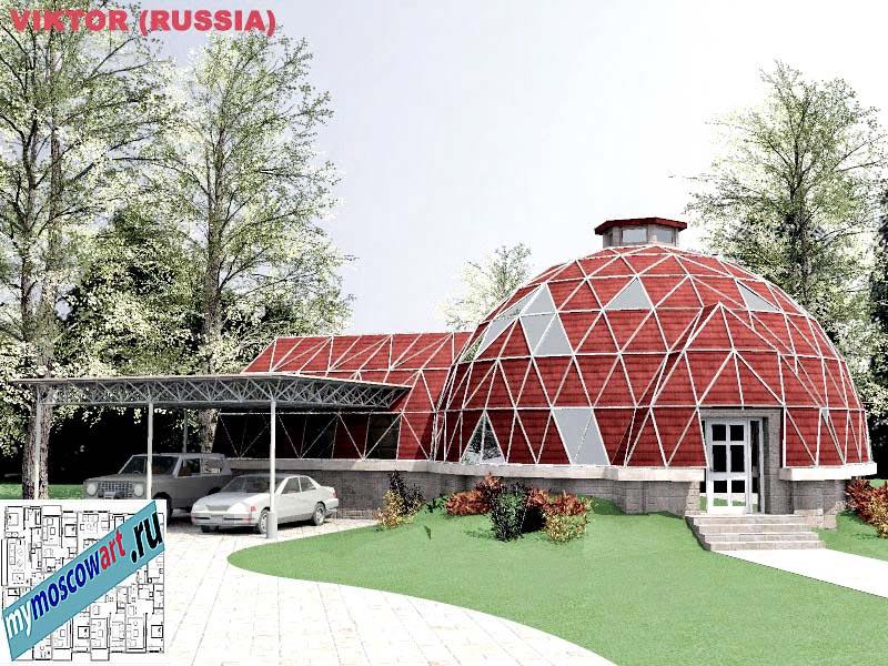 Проект дома - Виктор (Город Москва - Россия) (15)