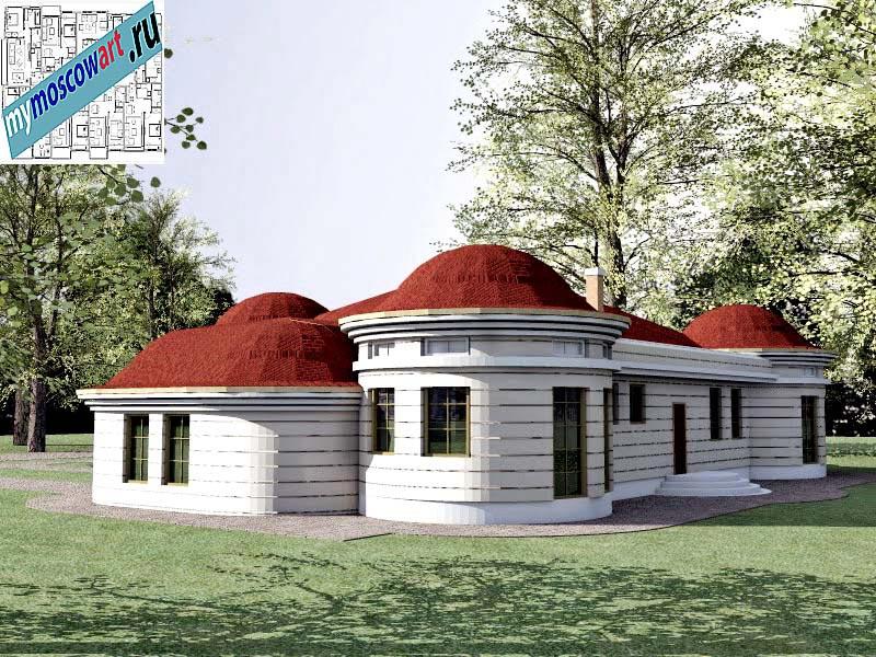 Проект дома - Баришич (Город Чуприя - Сербия) (6)