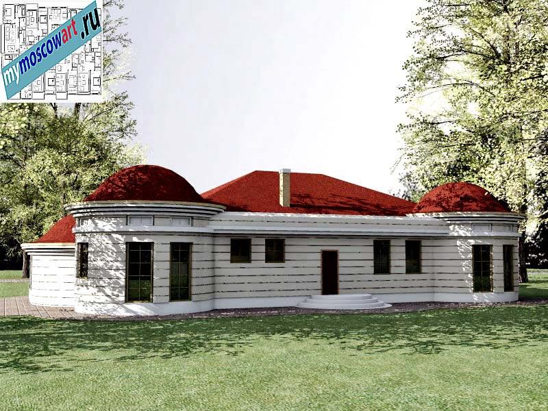 Проект дома - Баришич (Город Чуприя - Сербия) (7)
