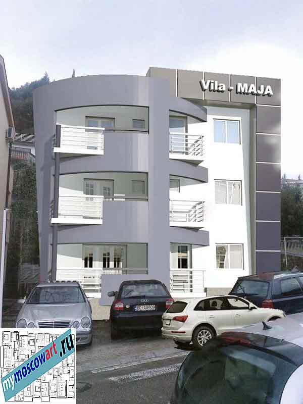 Проект пристройки здания - Мая (Город Будва - Черногория) (7)