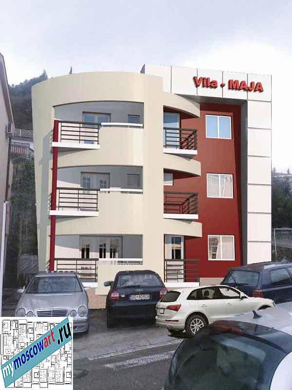 Проект пристройки здания - Мая (Город Будва - Черногория) (8)
