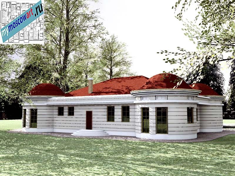 Проект дома - Баришич (Город Чуприя - Сербия) (8)