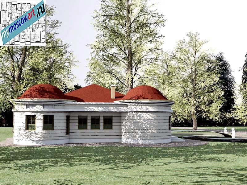 Проект дома - Баришич (Город Чуприя - Сербия) (9)