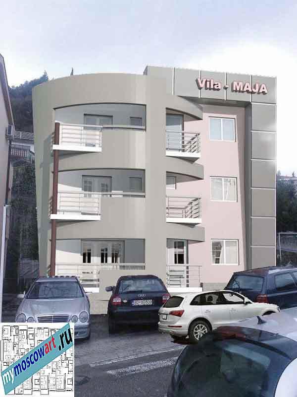 Проект пристройки здания - Мая (Город Будва - Черногория) (13)