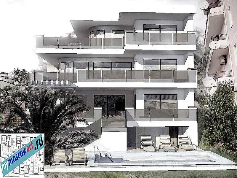Проект виллы - Ратко (Город Будва - Черногория) (1)