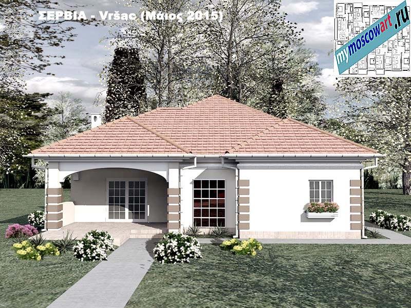 Проект дома - Милена (Город Вршац - Сербия) (1)