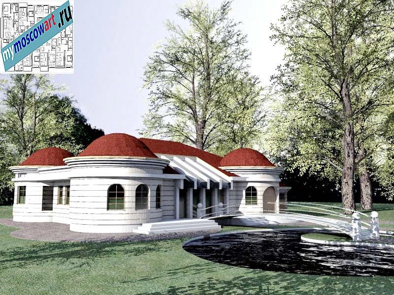 Проект дома - Баришич (Город Чуприя - Сербия) (10)