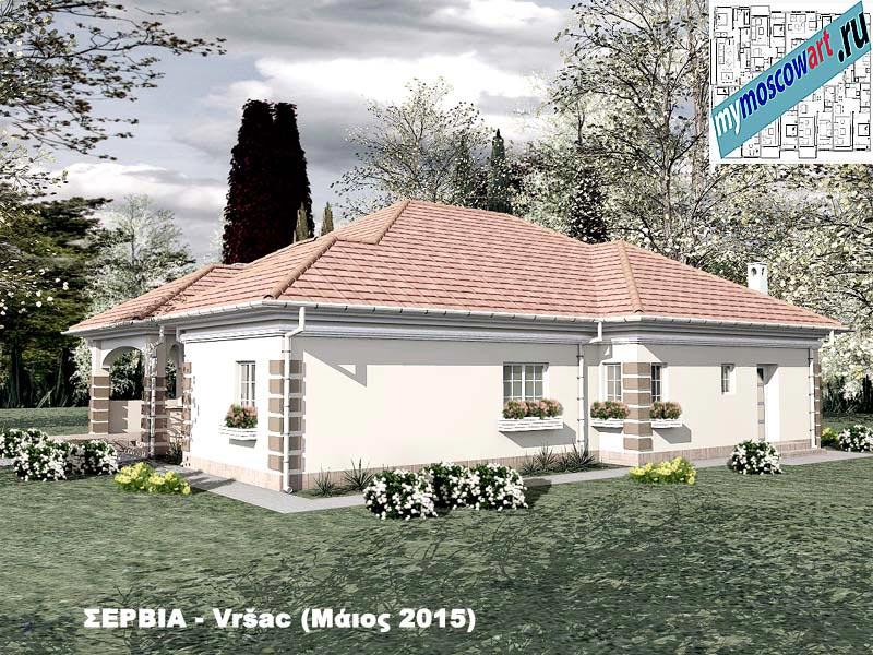 Проект дома - Милена (Город Вршац - Сербия) (3)
