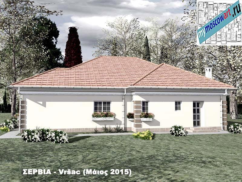 Проект дома - Милена (Город Вршац - Сербия) (4)