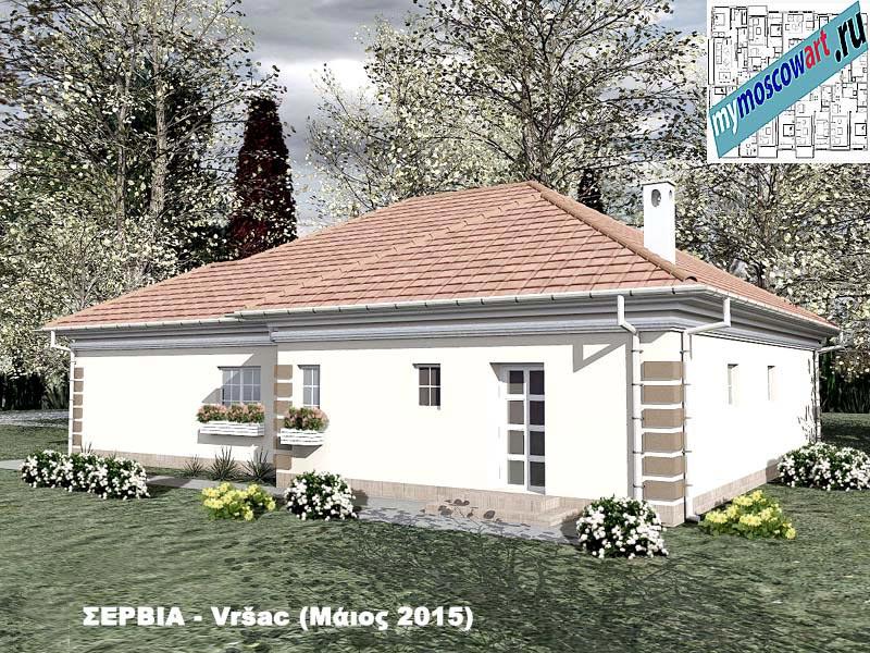 Проект дома - Милена (Город Вршац - Сербия) (5)
