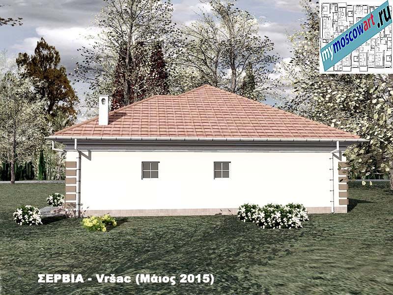 Проект дома - Милена (Город Вршац - Сербия) (6)