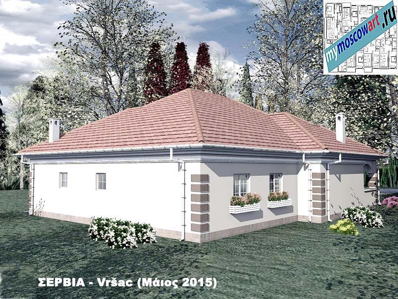 Проект дома - Милена (Город Вршац - Сербия) (7)