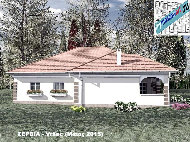 Проект дома - Милена (Город Вршац - Сербия) (8)
