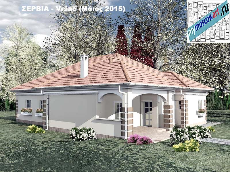 Проект дома - Милена (Город Вршац - Сербия) (9)