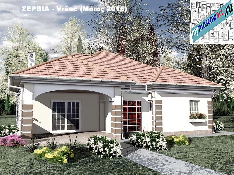 Проект дома - Милена (Город Вршац - Сербия) (10)